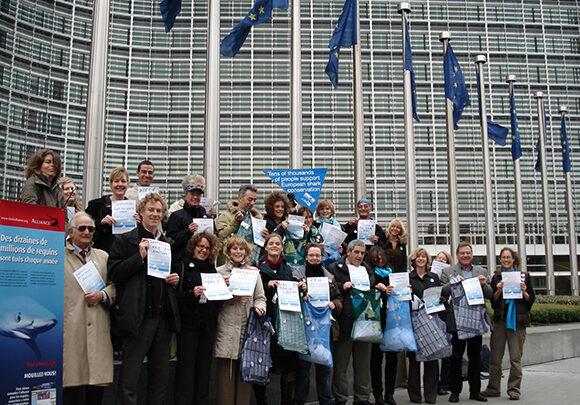 Shark Alliance Members in Brussels